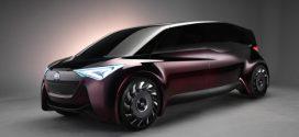 Toyota Fine-Comfort Ride: Neues Konzeptfahrzeug mit Brennstoffzelle