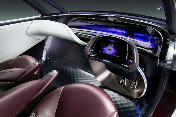 Toyota Fine-Comfort Ride - Innenraum