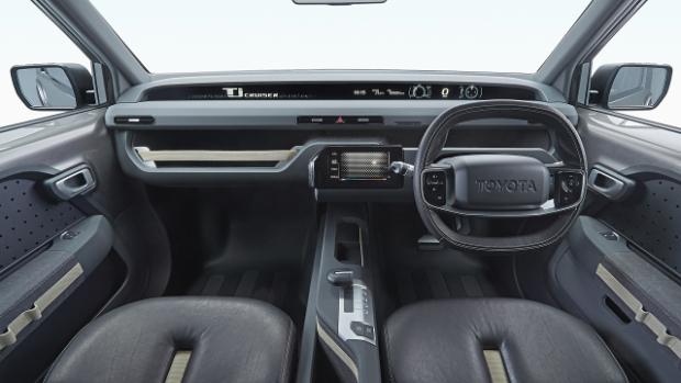 Toyota Tj Cruiser - Cockpit