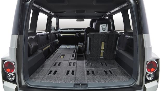Toyota Tj Cruiser - Variabler Innenraum