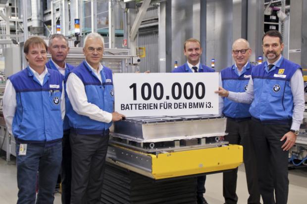 100000ste Batterie für den BMW i3