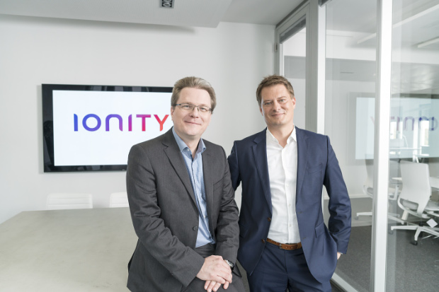 IONITY COO Dr. Marcus Groll (links) & CEO Dr. Michael Hajesch (rechts)