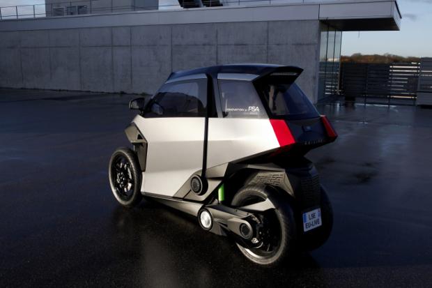EU-LIVE Plug-In-Hybrid Leichtfahrzeug