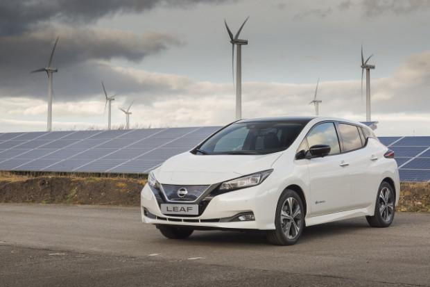 Zweite Generation des Nissan Leaf