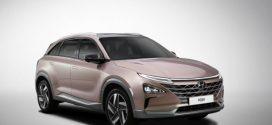 Hyundai FCEV mit Brennstoffzellentechnologie auf der CES in Las Vegas