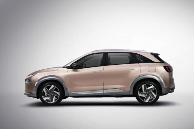 Hyundai FCEV mit Brennstoffzellentechnologie