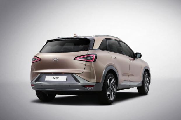 Hyundai FCEV - Brennstoffzellenauto der neusten Generation