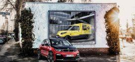 BMW i Batterien kommen im Streetscooter Elektrotransporter zum Einsatz