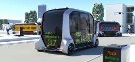 Toyota e-Palette: Sieht so die Zukunft des vollautonomen Fahrens aus?