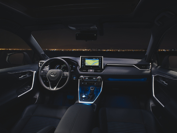 Neuer Toyota RAV4 - Innenraum