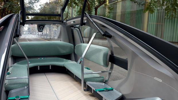 Renault EZ-GO - U-förmige Sitzbank