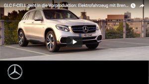 Das Vorserienmodell des Mercedes-Benz GLC F-CELL