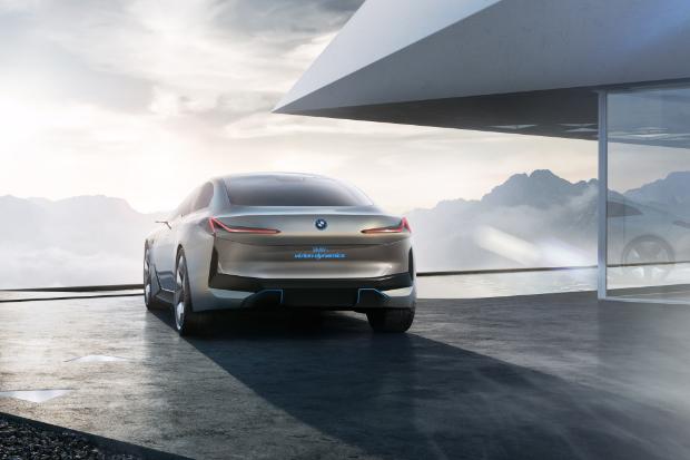 BMW i Vision Dynamics Elektroauto