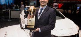 Der neue Nissan Leaf als World Green Car of the Year 2018 ausgezeichnet