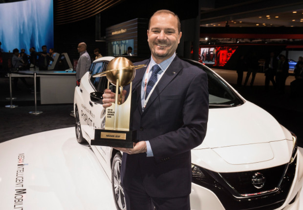 2018 Nissan LEAF zum World Green Car of the Year 2018 gewählt