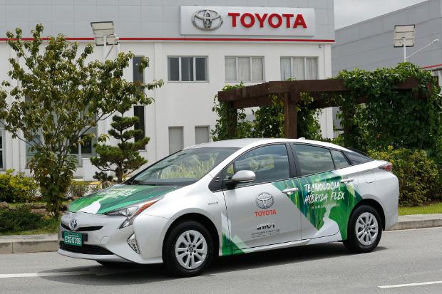 Toyota Hybrid FFV - Mit Flex-Fuel-Hybridantrieb