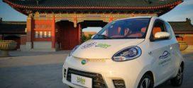 Valeo zeigt in China einen kleinen Zweisitzer-Prototypen mit Elektroantrieb