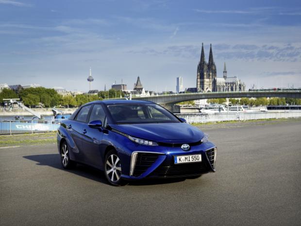 Toyota Mirai - Brennstoffzellenauto