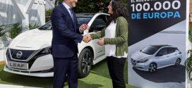 Nissan feiert den 100.000sten verkauften Leaf in Europa
