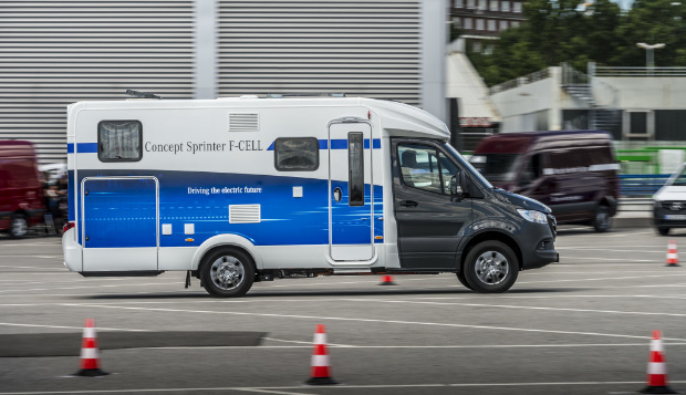 Mercedes-Benz Concept Sprinter F-CELL