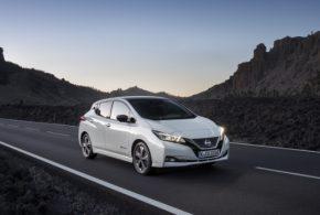 18.000 Neuzulassungen des Nissan Leaf im ersten Halbjahr 2018 in Europa
