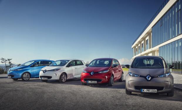 Renault ZOE Elektroautos