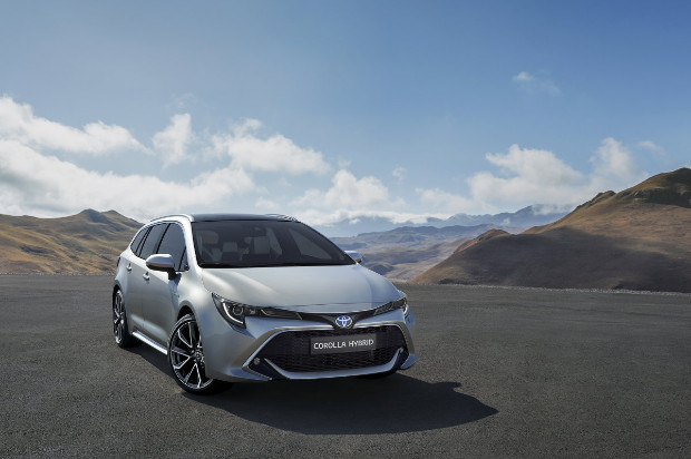 2019er Toyota Corolla Touring Sports
