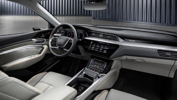Audi e-tron Elektroauto - Innenraum