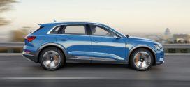 Audi e-tron: Oberklasse-SUV als erstes elektrisches Serienmodell der Marke