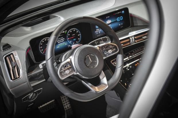 Mercedes-Benz EQC Innenraum