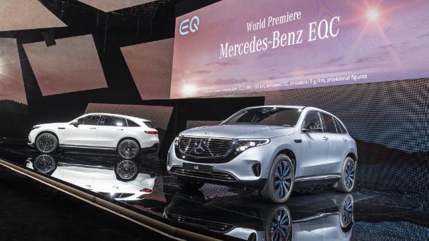 Mercedes-Benz EQC: Das erste Elektroauto unter der neuen EQ-Marke