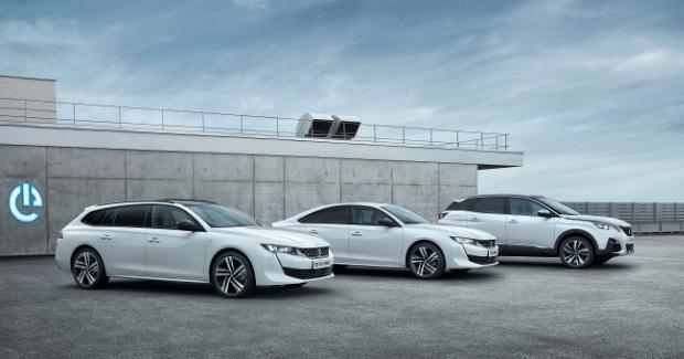 Neue Peugeot Modelle mit Plug-In-Hybridantrieb