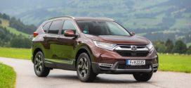 Honda CR-V Hybrid ab Oktober 2018 bestellbar