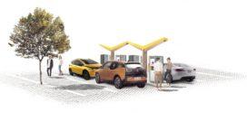 Fastned und REWE testen erste Schnellladestationen für E-Autos an Supermärkten