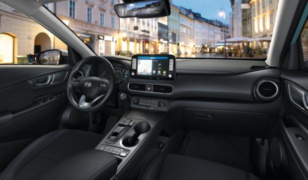 Hyundai Kona Elektro - Innenraum