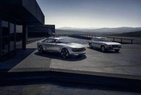 Peugeot e-LEGEND: Rein elektrisches Concept Car als Nachfolger des 504 Coupé