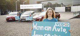 VCD Auto-Umweltliste 2018/2019: Umweltfreundliche Autos einfach finden