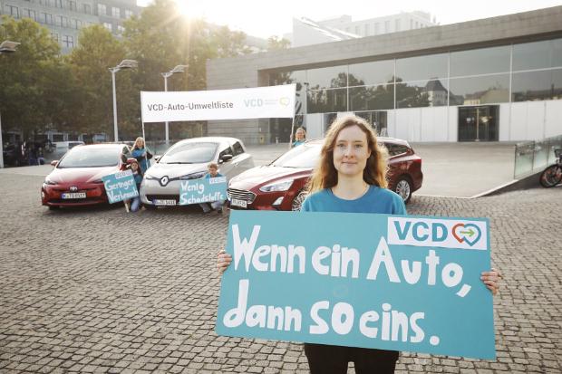 VCD Auto-Umweltliste 2018/2019 - Die Besten Pkw