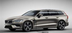 Neuer Volvo V60 T8 Twin Engine AWD mit Plug-in-Hybridantrieb bestellbar