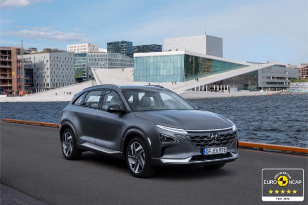 Hyundai Nexo - 5 Sterne beim Euro NCAP im Oktober 2018