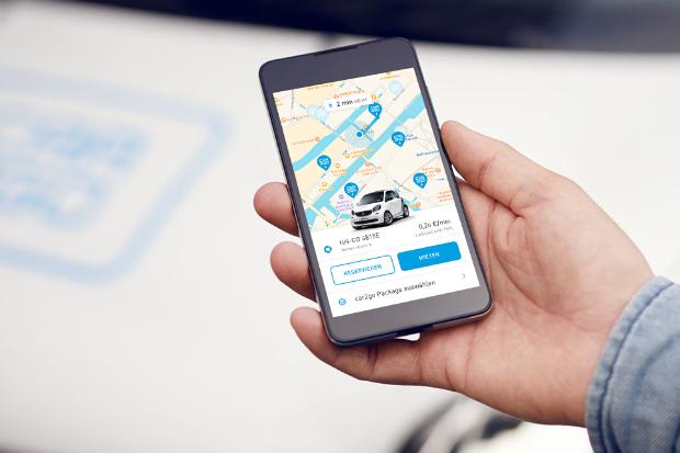 In Hamburg ein smart EQ Elektroauto bei car2go buchen