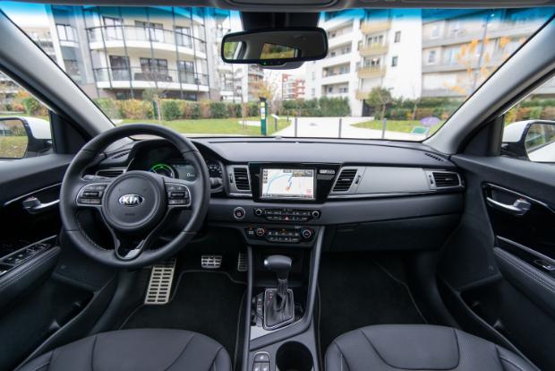 Kia Niro Plug-in Hybrid - Innenraum