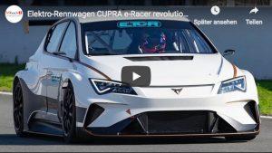 CUPRA e-Racer ist schon bereit für die neue Elektro Tourenwagenserie ab 2020