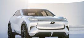 INFINITI QX Inspiration: Ausblick auf das erste Elektroauto der Marke