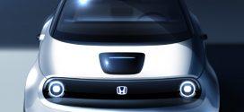 Prototyp des ersten Honda Elektroautos feiert in Genf Weltpremiere