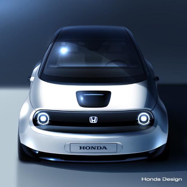 Prototyp des Honda Elektroauto 2019