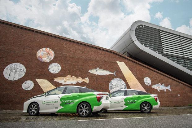 CleverShuttle - Toyota Mirai in Hamburg