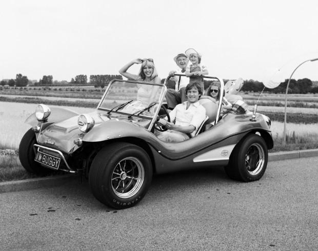 Historischer Strand-Buggy von VW