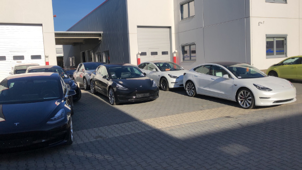 Tesla Model 3 bei nextmove