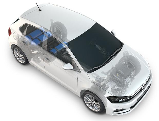 VW Polo TGI mit 3 Erdgastanks